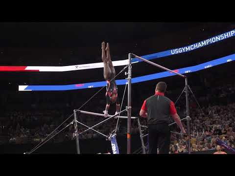 Shania Adams - Uneven Bars - 2018 U.S. Gymnastics Championships - Senior Women Day 2