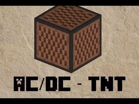 Minecraft Note Block ( Notenblock ) ⇒ AC/DC - TNT ⇐