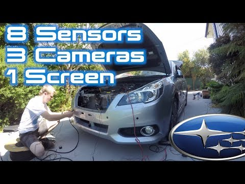 Project Legacy: Full Parking Sensor + Camera System Install   Part 1