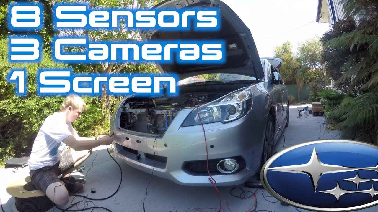Project Legacy: Full Parking Sensor + Camera System Install | Part 1