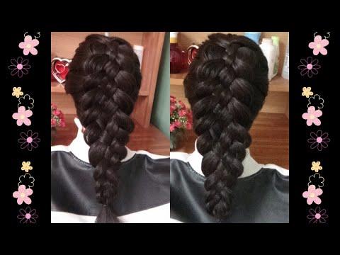 Hairstyles - Kiểu Tết Tóc 5 Sợi Cực Xinh