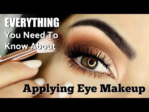 Beginners Eye Makeup Tutorial | Everything You Need To Know | How To Apply Eyeshadow thumbnail