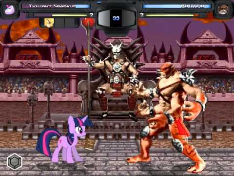 Ultraluux Mugen - MLP Team Vs Bosses MK...