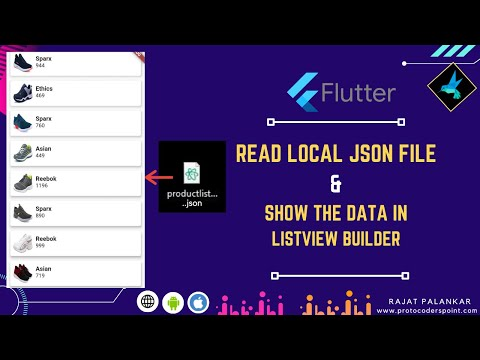 How to read local json file in flutter & show json data in listview builder