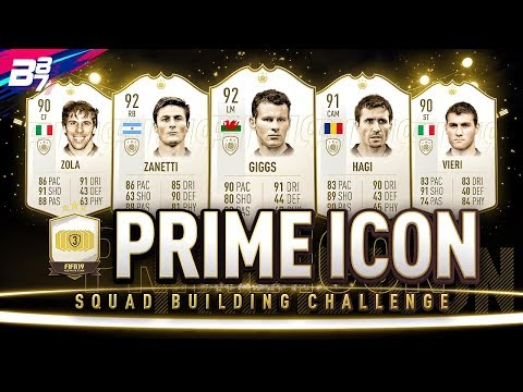 PRIME ICON PLAYER PICK PACK! SET 3! | FIFA 19 ULTIMATE TEAM
