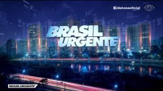 """Novo grafismo do """"Brasil Urgente"""" com José Luiz Datena (19/06/2017)"""