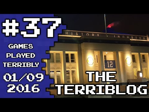Seattle's Museum of History and Industry - Jan 9, 2016 - The Terriblog #37 - Games Played Terribly