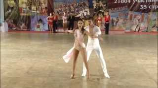 XI. World Dance Olympiad IDO Offical BACHATA ADULT COUPLES 3rd PLACE  CEM&MELISA From TURKEY