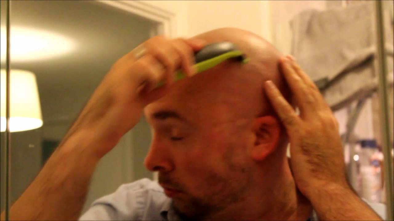Philips One Blade Head Shave Youtube