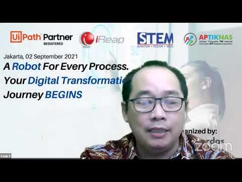 Dokumentasi Webinar 5TRENDS in Corp IT - Automation bersama UIPath 2 Sep 2021
