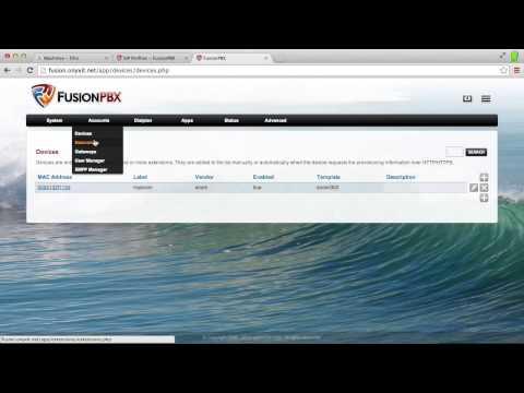 FusionPBX / FreeSwitch - SmartOS Demo