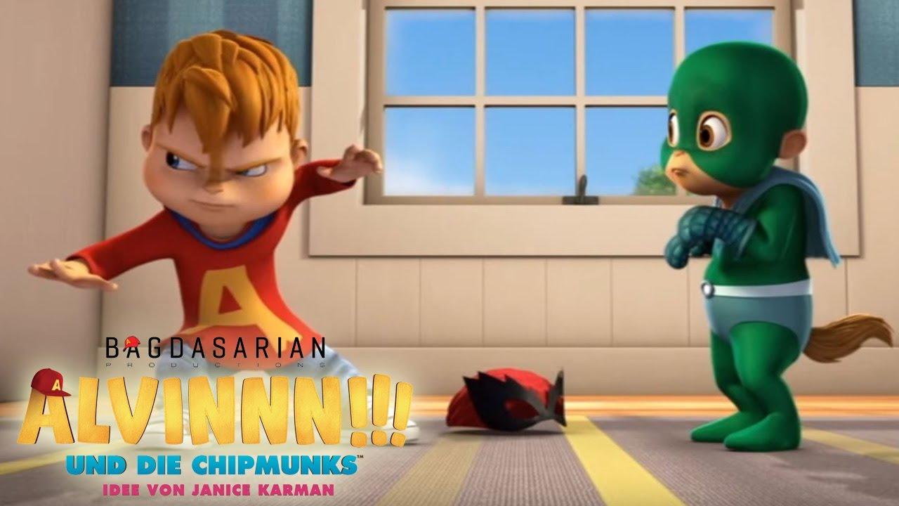 Alvinnn Und Die Chipmunks Superhelden Folge 8 Youtube