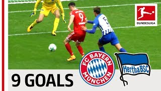 Bayern München vs. Hertha Berlin | All Goals in the Last 5 Matches - Lewandowski, Duda, & Co.