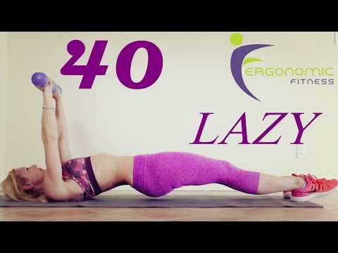 40 MINUTE TOTAL BODY WORKOUT (FOR LAZY DAYS) - NO CARDIO!