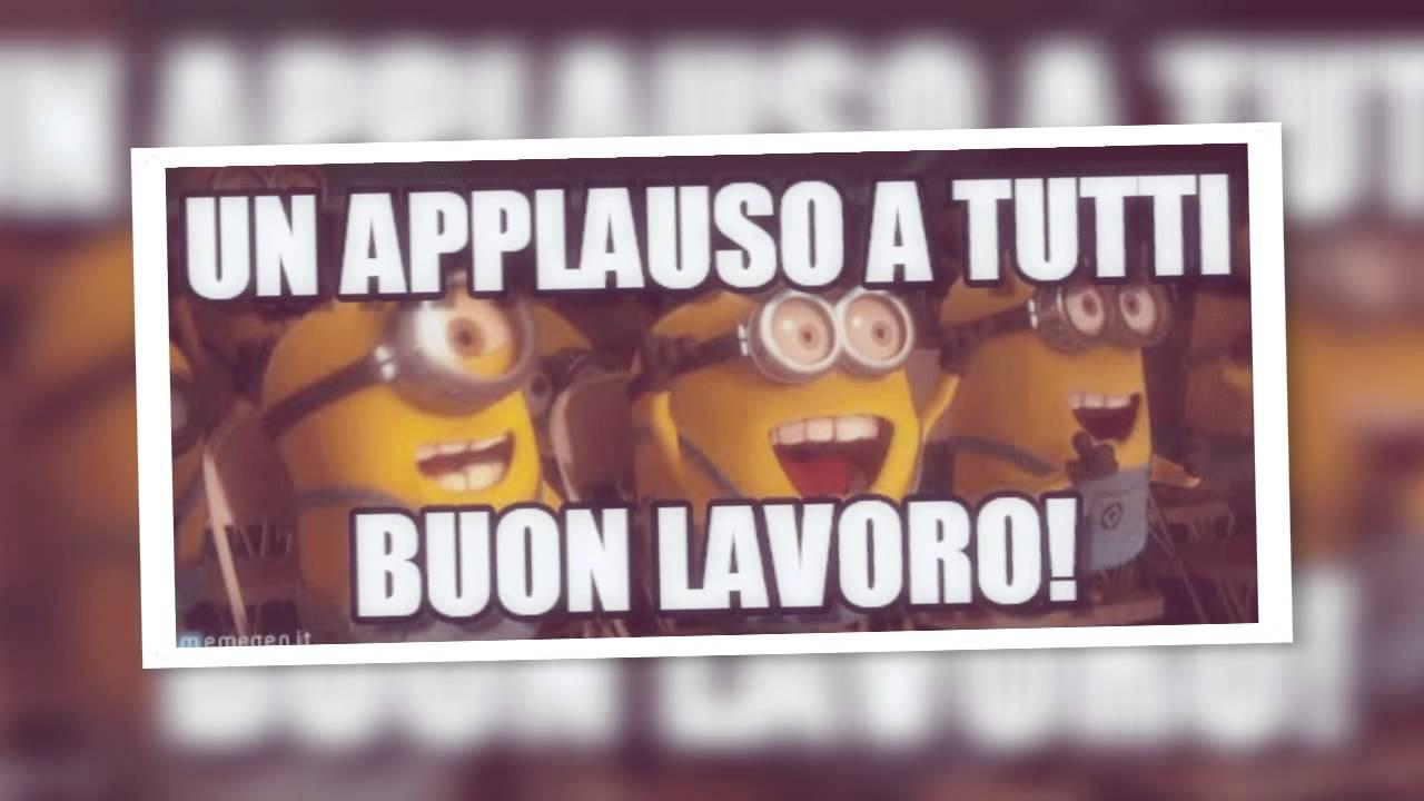 Favorito BUON LAVORO - YouTube OT13