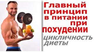 Питание При Похудении:Главное - Цикличность Диет