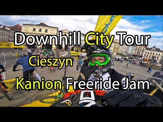 Downhill City Tour 2018 / Kanion Freeride Jam | VLOG mocno rowerowy #19