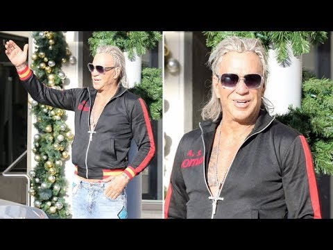 Mickey Rourke Goes 'Trick-Or-Treating' In December In ...