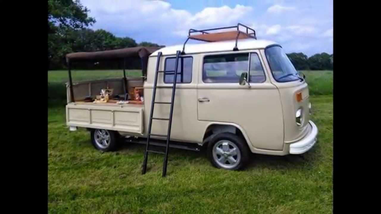 Vw Crew Cab Double Cab Kombi Pickup Rhd For Sale Youtube