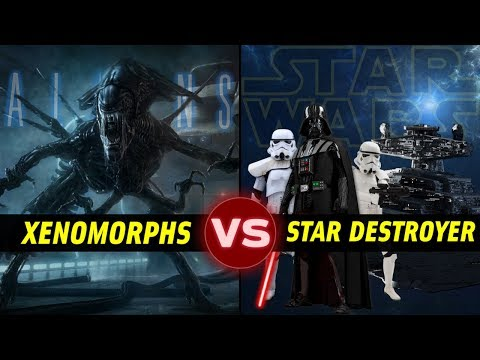 Could a Star Destroyer Survive a Xenomorph Invasion? Alien vs Star Wars: Galactic Versus