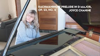 Rachmaninoff Prelude Op. 23, No. 4 in D major - Joyce Chahine