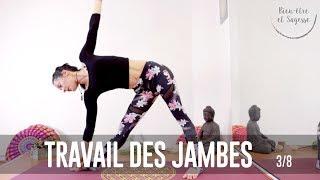 tuto yoga | trikonasana - le triangle | 3/8