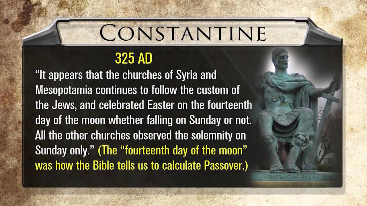 Get Rid of Easter! (Pagan origins of Easter and Christmas Exposed ...