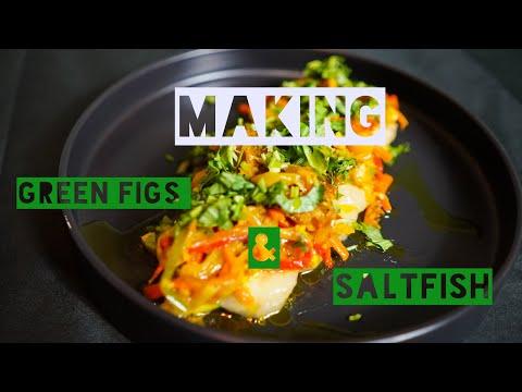 How To Make Green Banana/Figs & Saltfish
