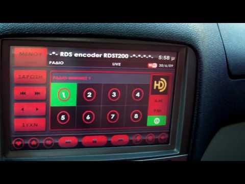 alfa romeo 147 car pc (HD RADIO)