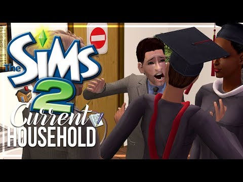 The Sims 2 | Current Household - The Wiley Family - GRADUATION DRAMA!! | Twitch Highlight