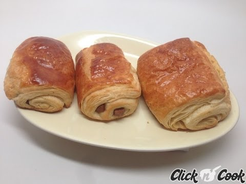 Recette de pains au chocolat et croissants m thode escargot companion moulinex youtube - Companion moulinex ou thermomix ...