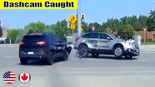 Ultimate North American Cars Driving Fails Compilation - 216 [Dash Cam Caught Video]