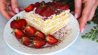 БЫСТРЫЙ ТОРТ На Сковороде Рецепт просто Бомба Готовлю на Завтрак