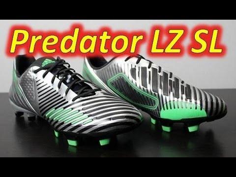 Adidas predator lz sl argento metallico unboxing + in piedi su youtube