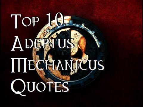 Top 10 Adeptus Mechanicus Quotes - 40K Theories