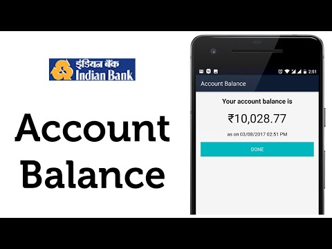 Indian Bank Balance Check Online in 4 Easy Steps