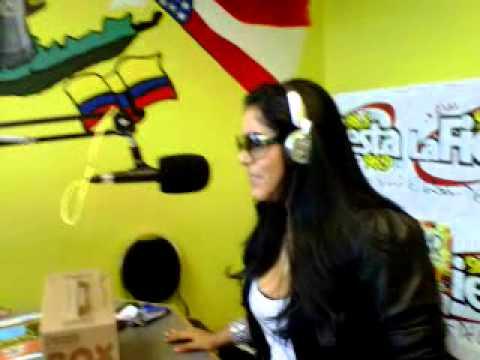 kathya Verdesoto en RADIO FIESTA 96.9 FM/ 98.5FM Long Island, New York.