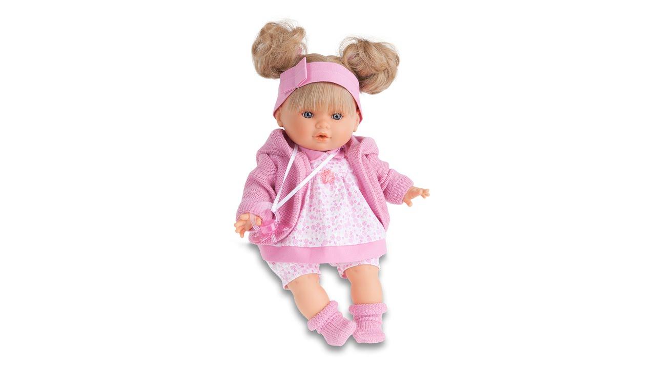 Мини-обзор куклы Llorens - YouTube