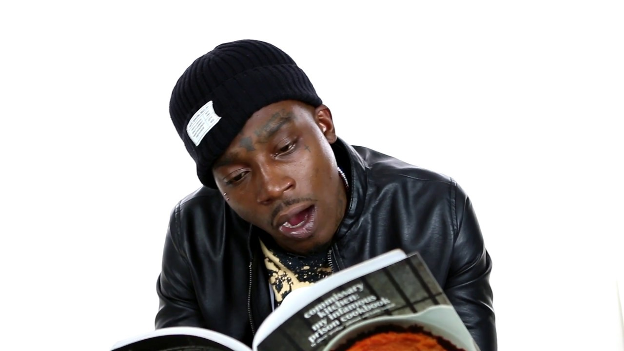 """Lotto Savage Reads A Page From Prodigy """"Commissary Kitchen: My Infamous Prison Cookbook"""""""