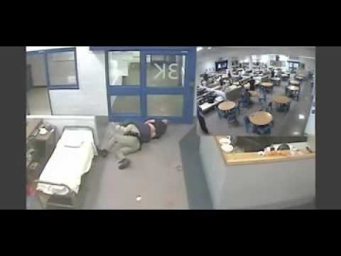 Clark County Detention Center surveillance video