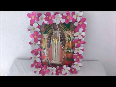 Como Decorar La Imagen De La Virgen De Guadalupe 12 De