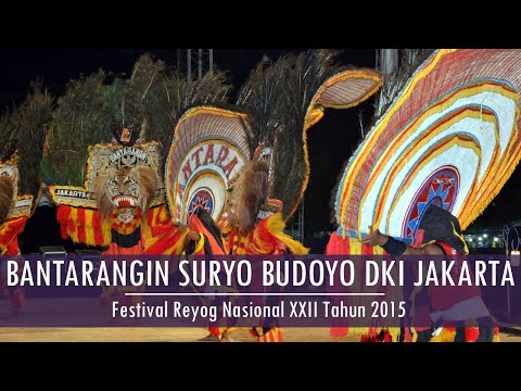 FRN XXII 2015 Rangking VII BANTARANGIN SURYO BUDOYO - DKI Jakarta 2 - Festival Reyog Nasional XXII