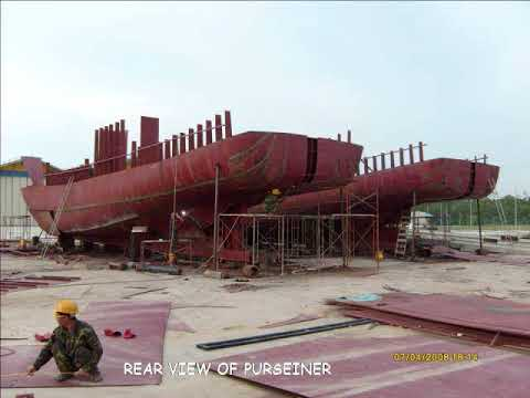 Fishing Vessel Trawler And Purseiner New Ship Building Project