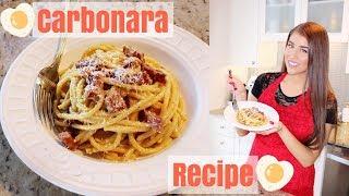 My Classic Carbonara Recipe | Italian Pasta