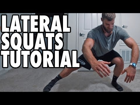 Physical Activity- How To Perform Lateral Squats