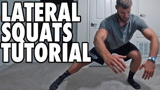 How to Perform Lateral Squats - Bodyweight Exercise Tutorial