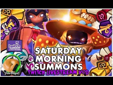 SUMMONERS WAR : Saturday Morning Summons LIVE - 2000+ Mystical, LD & Legendary Scrolls - (1/21/17)