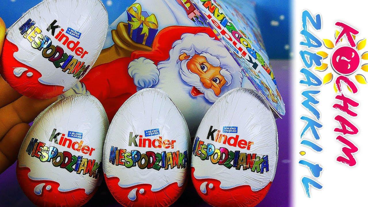 Kinder Niespodzianka • Świąteczne figurki • Openbox
