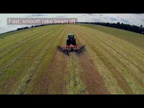 Kuhn SR 100 GII SpeedRake - Features And Benefits