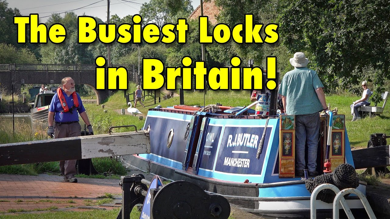 A Day in the Life at Hillmorton Locks - The Busiest Canal Locks in Britain.